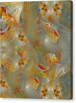 Beyond The Dance Of Life Canvas Print by Gayle Odsather