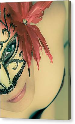 Beyond The Mask #02 Canvas Print by Loriental Photography