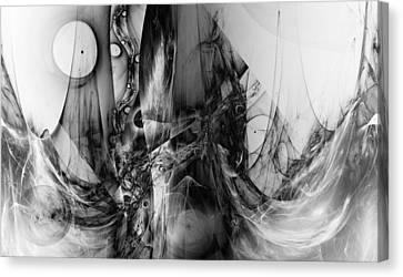 Beyond Two Souls Canvas Print by Stefan Kuhn