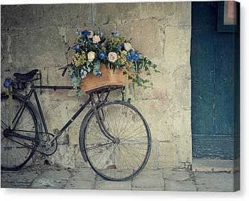 Bicycle Canvas Print by Photogodfrey