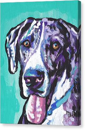 Big Baby Dane Canvas Print by Lea S
