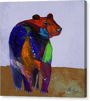 Big Bear Canvas Print by Tracy Miller