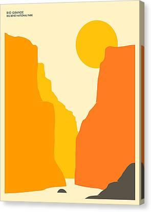 Big Bend National Park Canvas Print by Jazzberry Blue