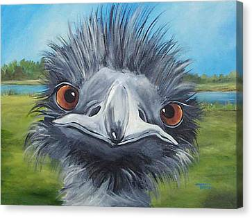 Big Bird - 2007 Canvas Print by Torrie Smiley