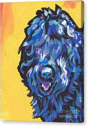 Big Blackie Canvas Print by Lea S