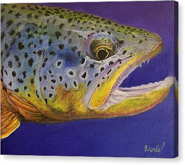 Big Brown Canvas Print by Bill Werle