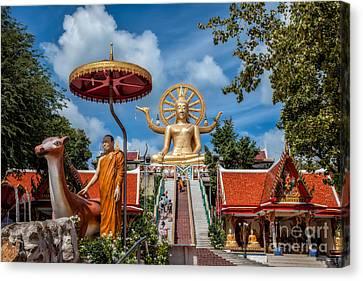 Big Buddha Temple Canvas Print by Adrian Evans