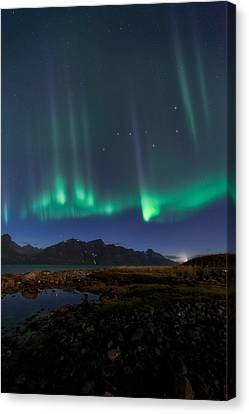 Big Dipper Canvas Print by Tor-Ivar Naess