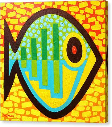 Big Fish Canvas Print by John  Nolan