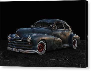 Big Hot Rod Canvas Print by Joachim G Pinkawa