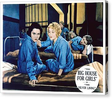 Big House For Girls Aka The Silver Canvas Print by Everett