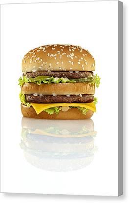 Big Mac Canvas Print by Geoff George