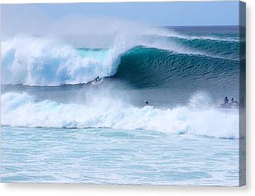 Big Pipeline Pro Canvas Print by Kevin Smith