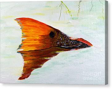 Big Red Canvas Print by Georgie McNeese