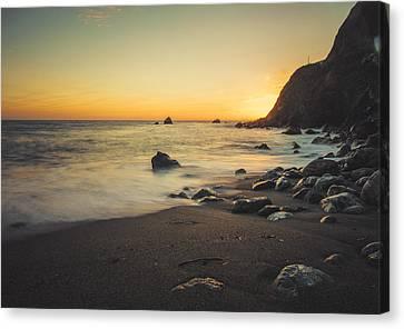 Big Sur Beach Canvas Print by Lynn Andrews