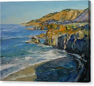 Big Sur Canvas Print by Michael Creese