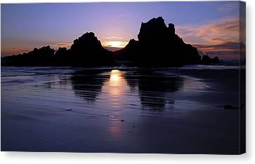 Big Sur Sunset Canvas Print by Pierre Leclerc Photography