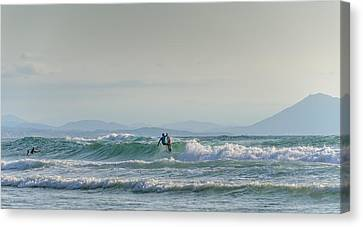 Big Surf Invitational II Canvas Print by Thierry Bouriat