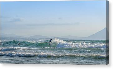 Big Surf Invitational IIi Canvas Print by Thierry Bouriat