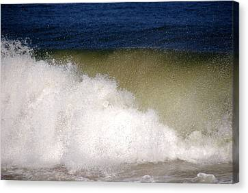 Big Waves Canvas Print by Susanne Van Hulst