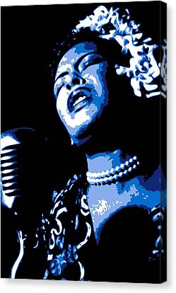 Billie Holiday Canvas Print by DB Artist