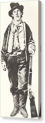 Billy The Kid Canvas Print by American School