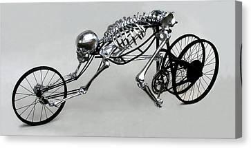 Bio Cycle Canvas Print by Jud  Turner