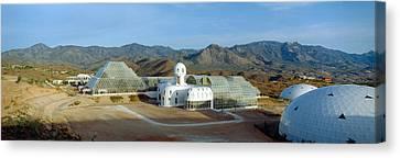 Biosphere 2, Arizona Canvas Print by Panoramic Images