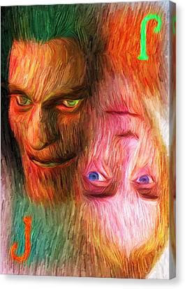 Bipolar Canvas Print by Caito Junqueira
