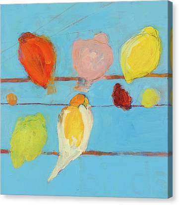Birds Canvas Print by Laurie Breen