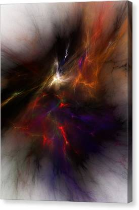 Birth Of A Thought Canvas Print by David Lane