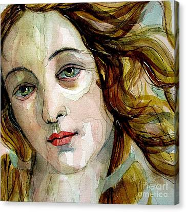Birth Of Venus Canvas Print by Paul Lovering