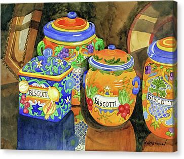 Biscotti Canvas Print by Robin Wethe Altman