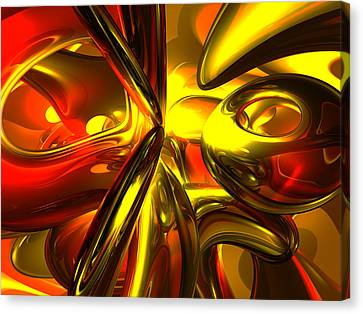 Bittersweet Abstract Canvas Print by Alexander Butler