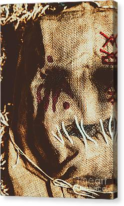 Black Eyes And Dried Out Hearts Canvas Print by Jorgo Photography - Wall Art Gallery