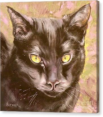 Black Pearl Canvas Print by Susan A Becker