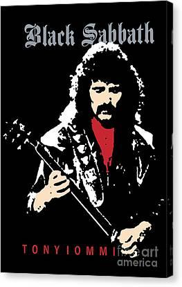 Black Sabbath No.02 Canvas Print by Caio Caldas