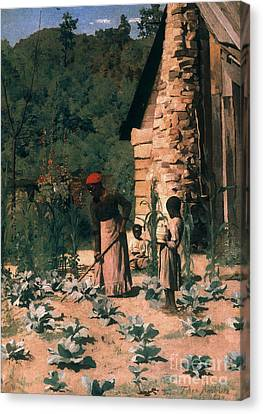 Black Sharecroppers, 1879 Canvas Print by Granger