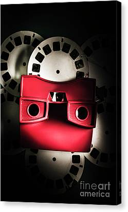Blast Past A Retro Play Back  Canvas Print by Jorgo Photography - Wall Art Gallery