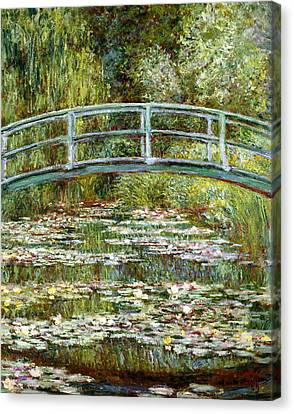 Blend 11 Monet Canvas Print by David Bridburg