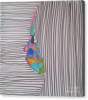 Blend Canvas Print by Roxane Gabriel