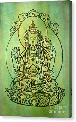 Blessing   Canvas Print by Shasta Eone