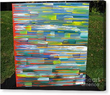 Blindsided Canvas Print by Jacqueline Athmann