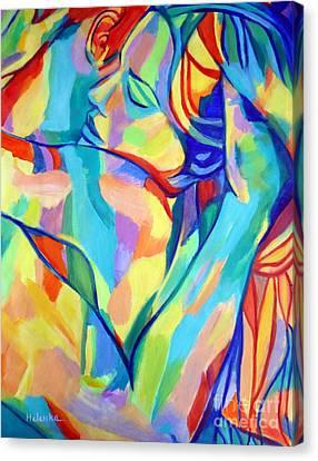 Bliss Canvas Print by Helena Wierzbicki
