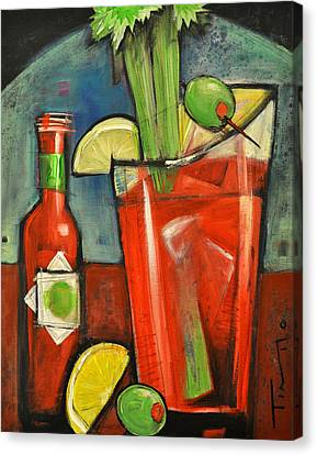 Bloody Mary Canvas Print by Tim Nyberg