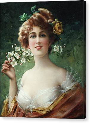 Blossoming Beauty Canvas Print by Emile Vernon
