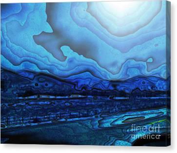 Blue Dream Canvas Print by Christina Stanley