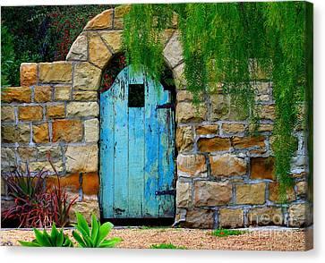 Blue Gate Canvas Print by Bill Keiran