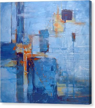 Blue Hawaii Canvas Print by Donna Shortt