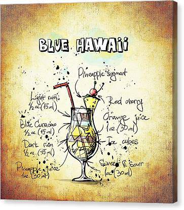 Blue Hawaii Canvas Print by Movie Poster Prints